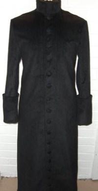 Priest Cassock Style Coat