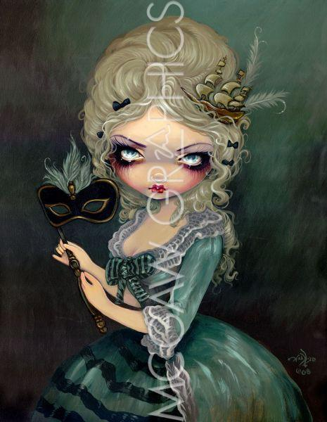 Marie Masquerade Poster