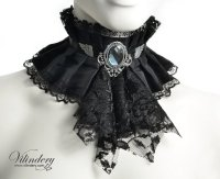Black Victorian Necklace