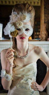 Victorian Bridal Mask