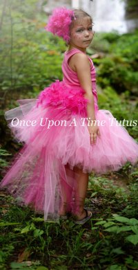 Hot pink flamingo tutu
