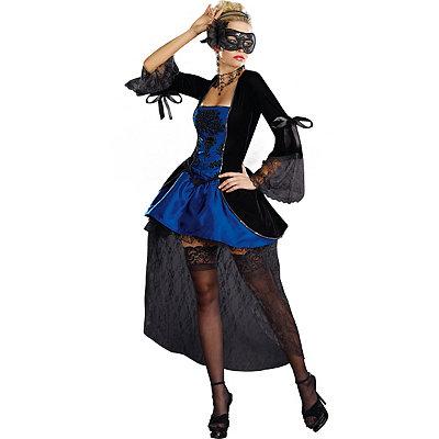 Masquerade Blue Dress