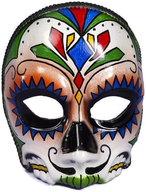 Dia De Los Muertos Mask for Men