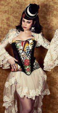 """alt=""""corset gotic Katrina"""""""