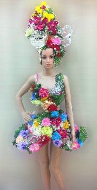"""alt=""""daNeeNa Flower Dress"""""""