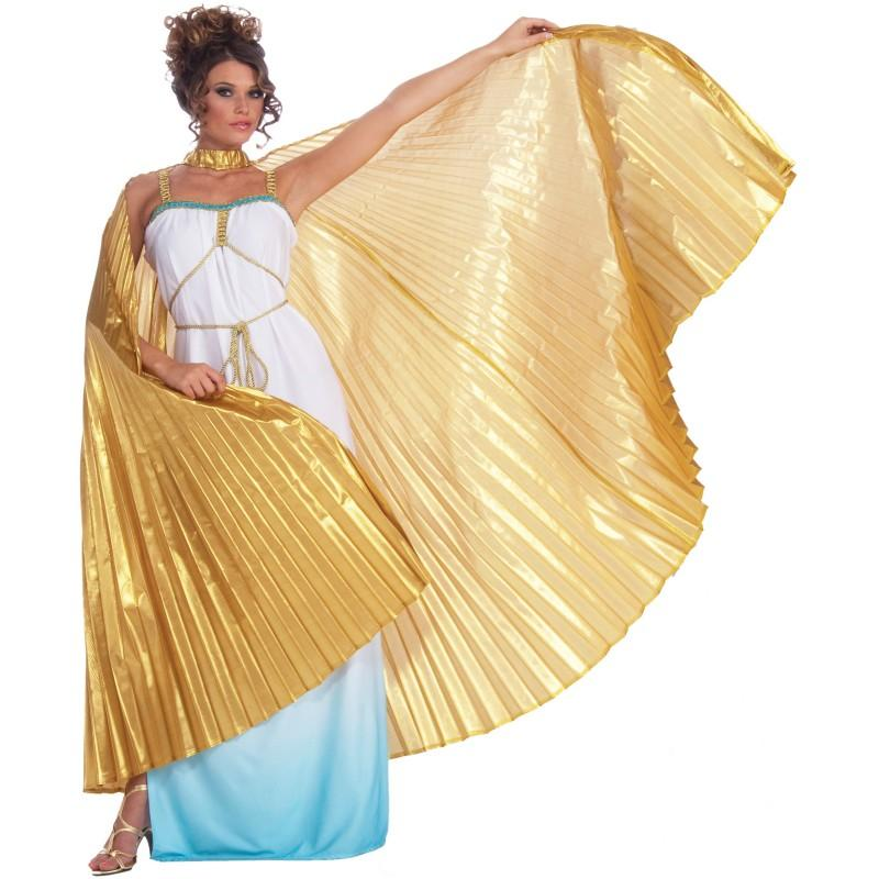 "alt=""theatrical greek goddess wings"""