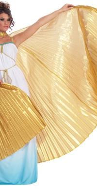"alt=""theatrical greek goddess wings"""