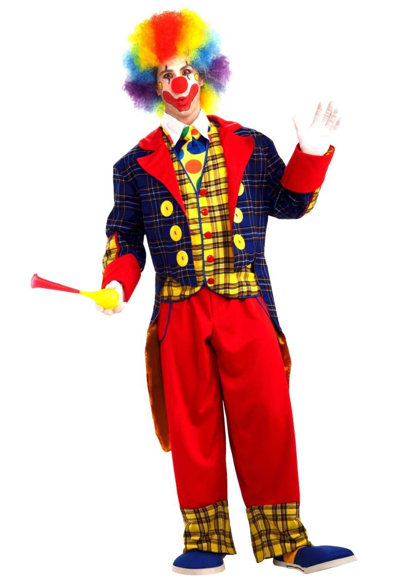 "ALT=""clown checkers costume"""