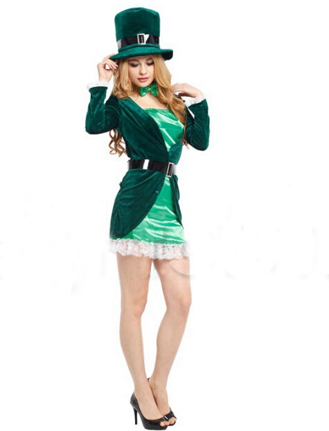 "alt=""saint patrick's day silk girl"""