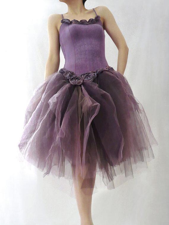 """alt=""""prom-bridal purple tutu dress"""""""