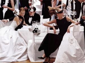 Masquerade theme for wedding