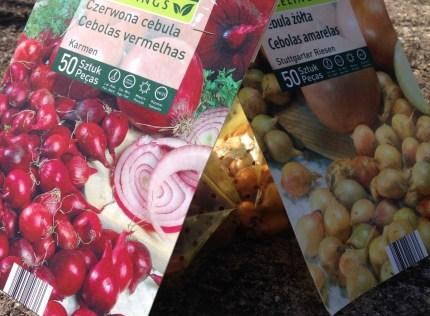 Cebola, cebolas, muitas cebolas…e mais ervilhas!