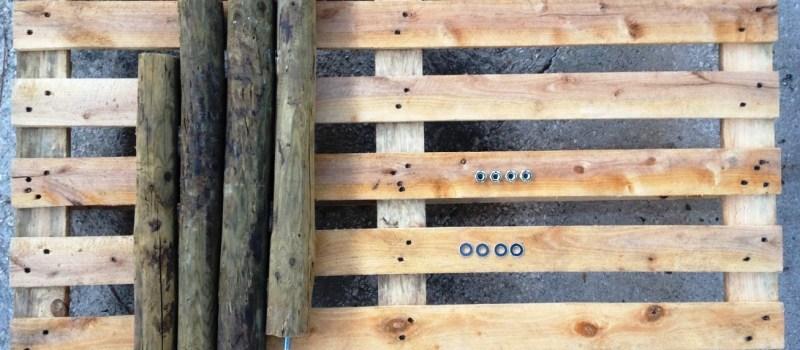 Construção horta vertical – Parte I