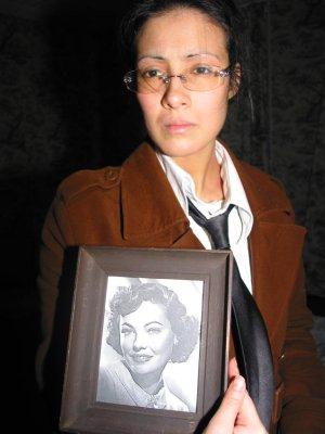 Christelle, alias Marie Thaa, marchande d'art Poirot d'or Janvier 2004