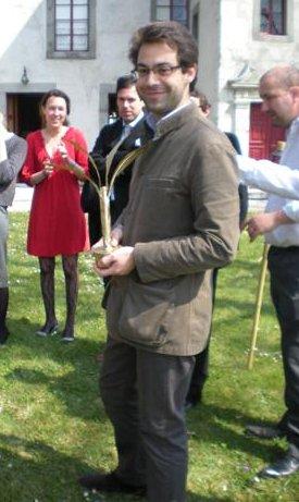 Eric alias Ali Ben Iznogoud Ambassadeur d'Egypte Poirot d'or Avril 2009