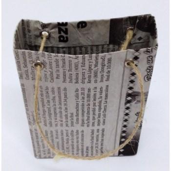 Bolsa papel reciclado mini estrecha