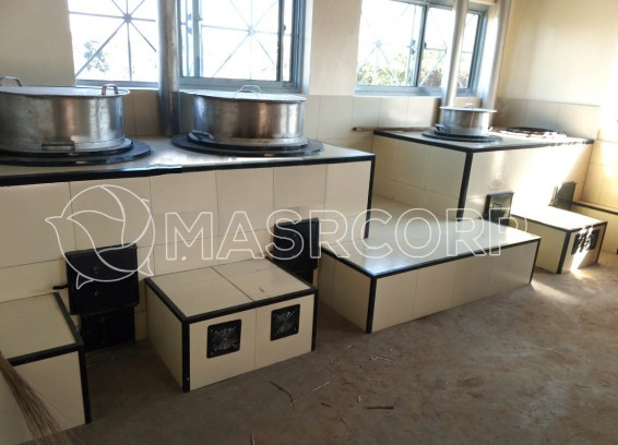 institutional improved cook Stoves kitchens
