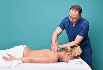 массаж при остеохондрозе фото