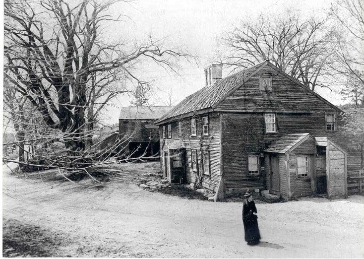 Old Abbott Homestead in Andover
