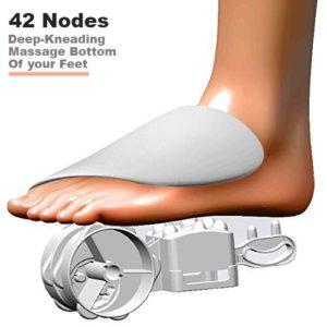 Belmint Shiatsu Foot Massager 42nodes