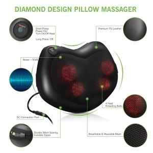 Pictek Shiatsu Massage Pillow massager