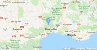 carte Montpellier