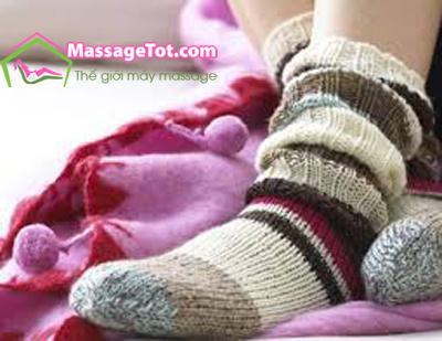 Giữ ấm cho đôi chân