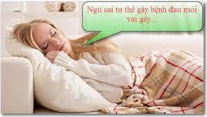 Ngủ sai tư thế