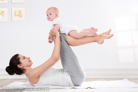 Rèn luyện cơ thể rất tốt cho phụ nữ sau sinh