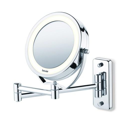 Gương trang điểm 2 mặt đèn led gắn tường Beurer BS59