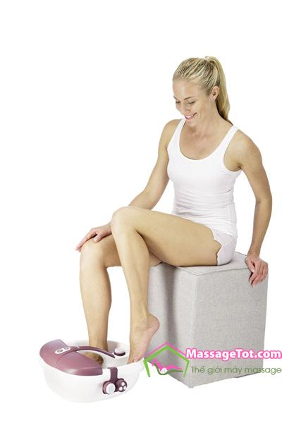 Bồn ngâm chân massage tốt cho sức khỏe