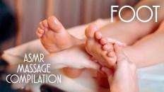 ASMR FOOT MASSAGE COMPILATION NO TALKING
