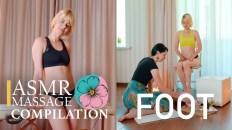 ASMR FOOT MASSAGE NO TALKING | RELAXING asmr 4k video