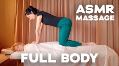 ASMR FULL BODY MASSAGE   COMPILATION   BEST MOMENTS