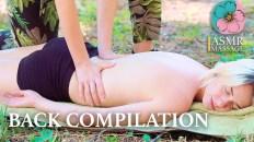 ASMR BACK MASSAGE COMPILATION