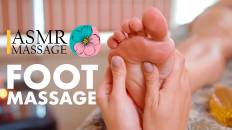 Techniques and features of foot massage   asmr massage fun