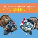 キャットフードの原材料ターキー(七面鳥)について。鶏よりもヘルシーで使いやすい肉原材料