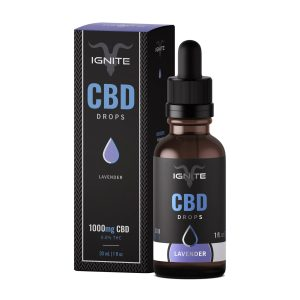 Ignite CBD Lavender Calm 1000mg CBD Oil Drops