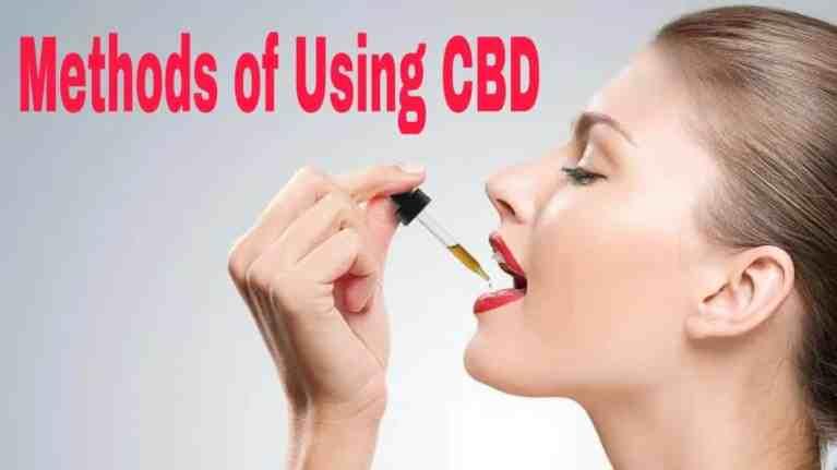 Methods of Using CBD