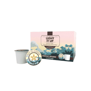Light It Up CBD K-Cups | Pot-O-Coffee