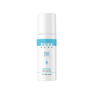 Muscle Menthol CBD Roll On Gel 600mg | PureKana CBD