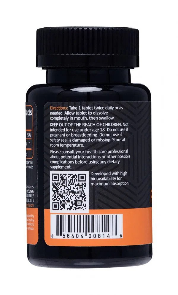 75mg FAST Sublingual CBD Tablets | Panacea Life Sciences QR Code