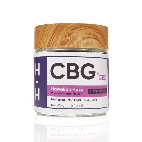 CBG+CBD Hawaiian Haze Flower