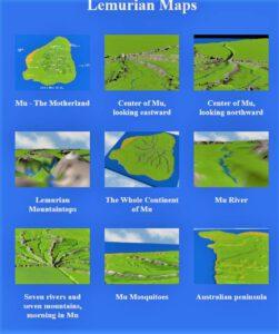 Lemuria maps
