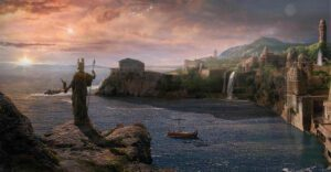 Atlantis - the last sunrise
