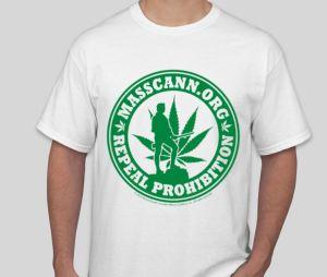 Tshirt with MassCann logo