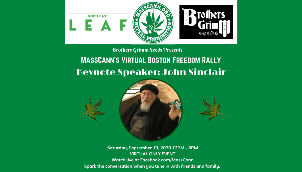 MassCann's Virtual Boston Freedom Rally Featured Speaker