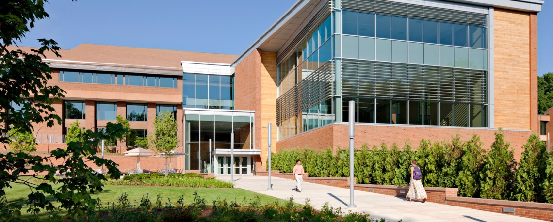 Greenfield Community College Exterior Campus Building