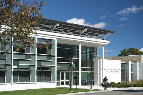 North Shore Community College Health Professions and Student Services Building