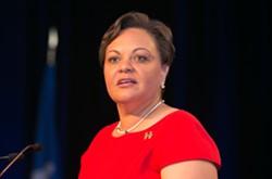 State Sen. Karen Carter Peterson.